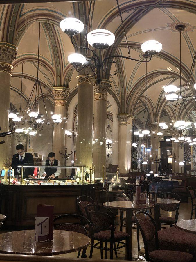 Cafe Centeral, Vienna Austria