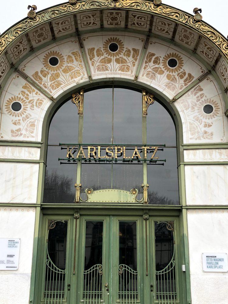 The Karlsplatz Stadtbahn Station