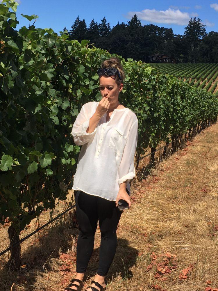 Horseback Riding Through Oregon's Wine Country